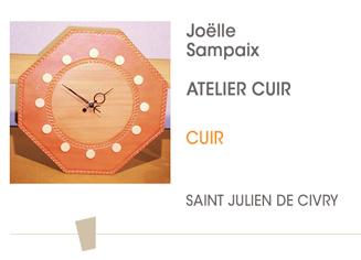 Joelle Sampaix - Atelier cuir - Saint-Julien-de-Civry